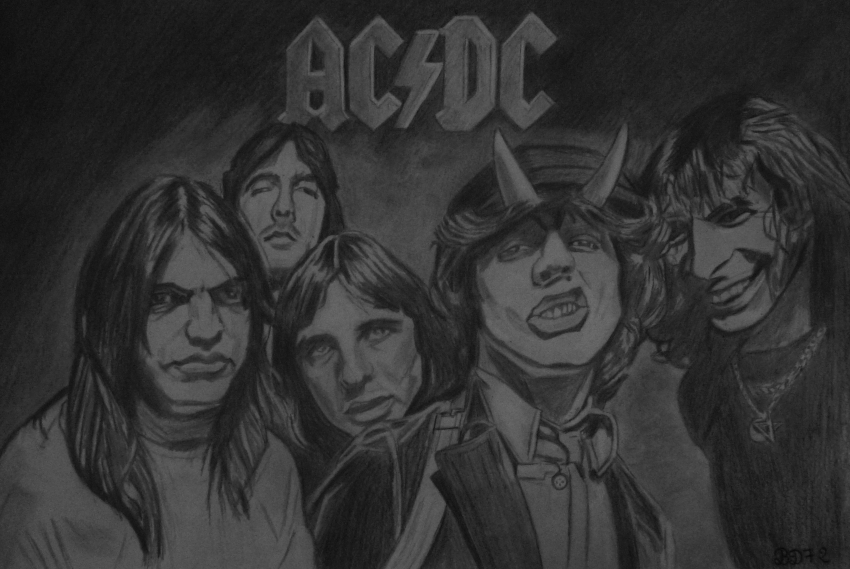AC/DC by beasalsa